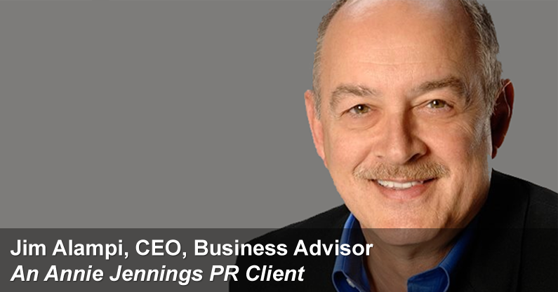 Annie Jennings PR Publicity Success Story - Jim Alampi
