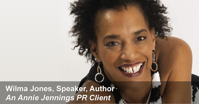 Real Publicity Success Story With Wilma Jones, Speaker & Author